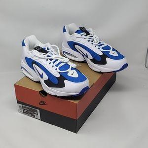NIB Nike Air Max Triax White Blue Black Men's 11.5